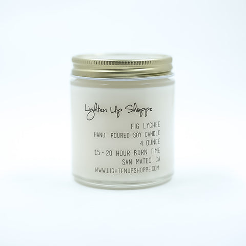 Fig Lychee Soy Candle