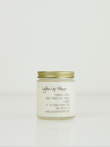 Pumpkin Apple Soy Candle