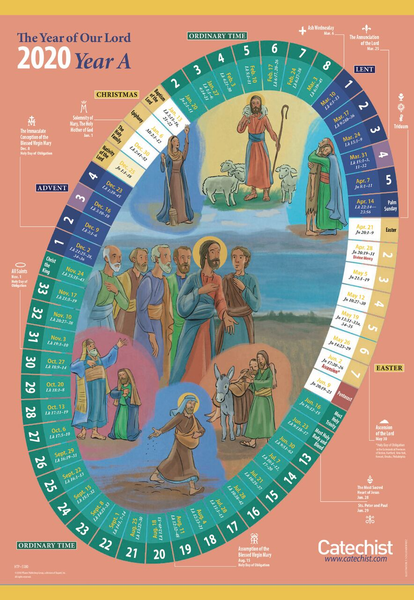 2020 Liturgical Calendar The Year of Our Lord 2019/2020   A Liturgical Calendar for the