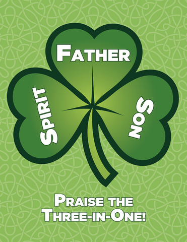 St. Patrick's Lollypop/Card Combo
