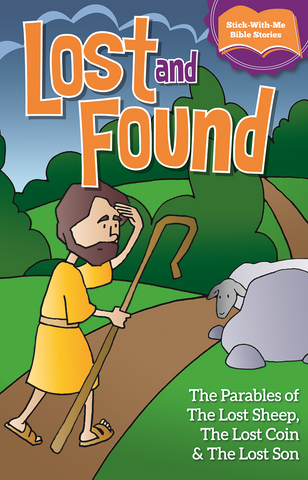 Lost and Found The Parables of the Lost Sheep (Sticker Book)