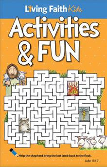 Living Faith Kids Activity Booklet