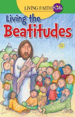 Living Faith Kids: Living the Beatitudes (Sticker Book)