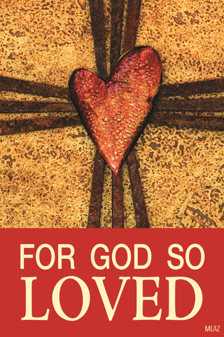 Lent Magnet: For God So Loved