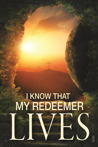 Easter Magnet: I know That My Redeemer Lives!