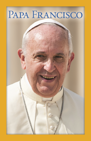 Spanish Pope Francis Prayer Card