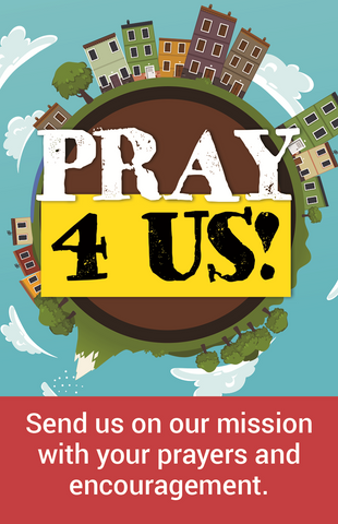 Send Me Mission And Service Congregation Prayer Card