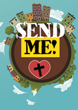 Send Me Mission And Service Cross-Shaped Handout