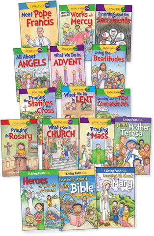 Living Faith Kids Children's Booklet Pack