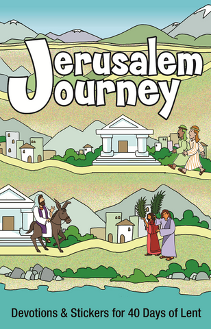 Combo: Jerusalem Journey - Booklet, Poster