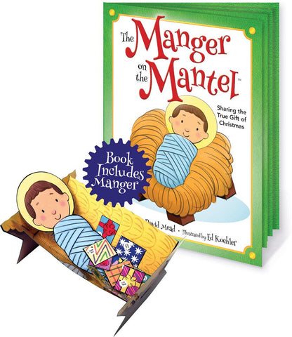 Manger On The Mantel Book