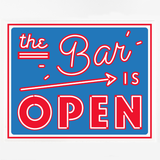 The Bar Is Open