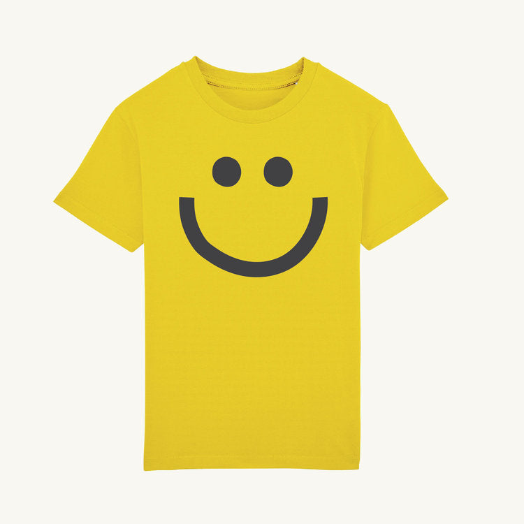 Yellow Smile T-Shirt by Marcus Walters