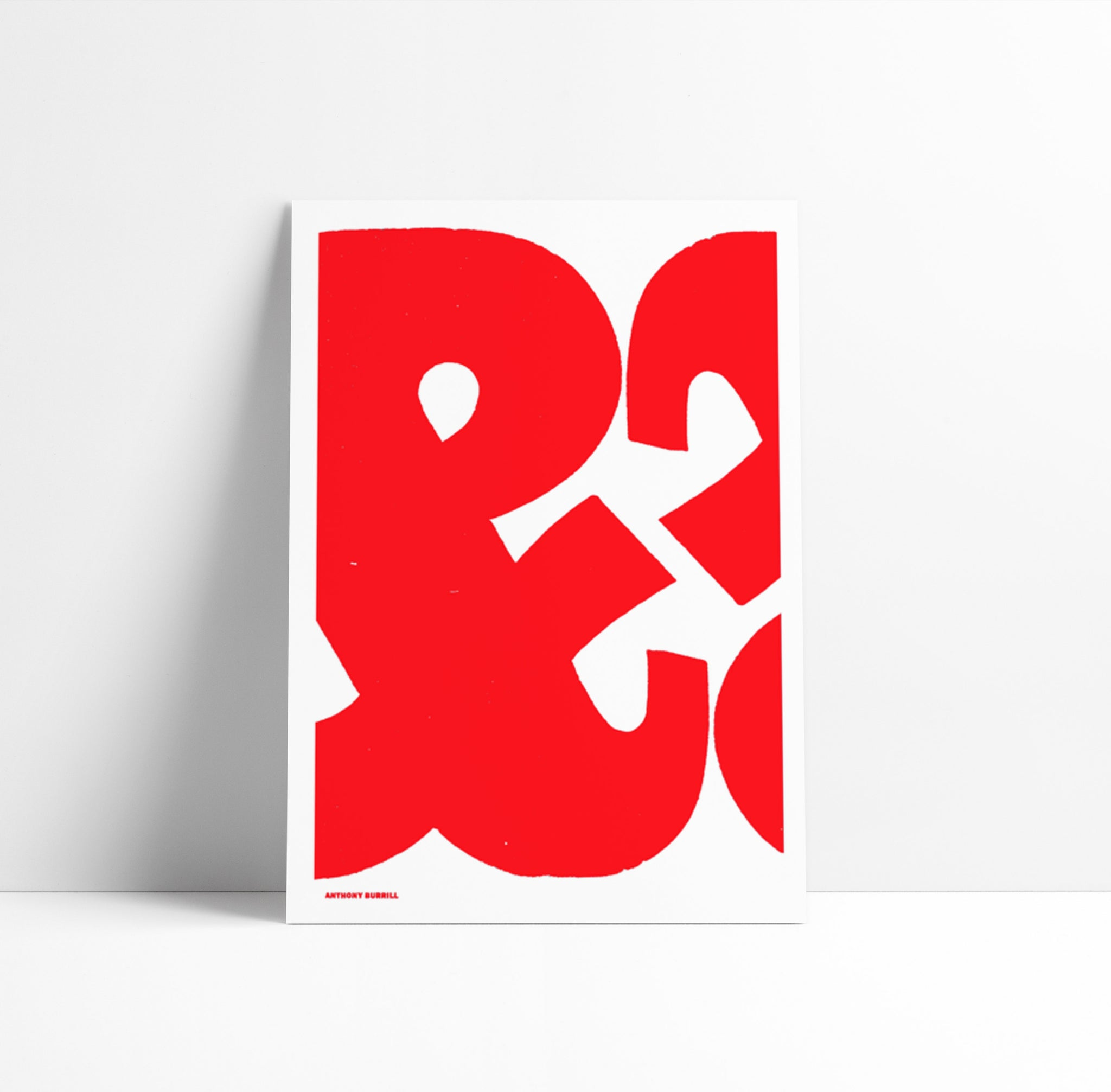 AMPERSAND BY ANTHONY BURRILL X THE PRIVATE PRESS