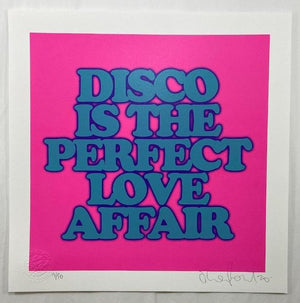 DISCO IS THE PERFECT LOVE AFFAIR