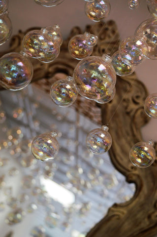 Bathhouse Soapery Bubble Chandelier