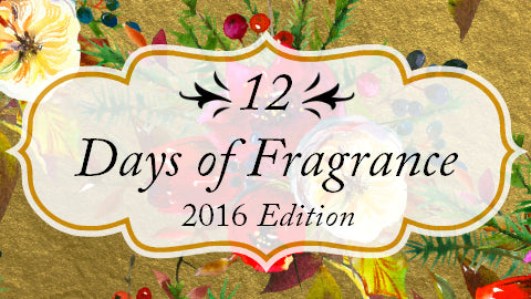 12 Days of Fragrance by Bathhouse Soapery