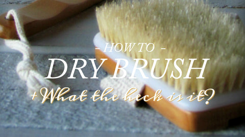 Dry Brush by Bathhouse Soapery