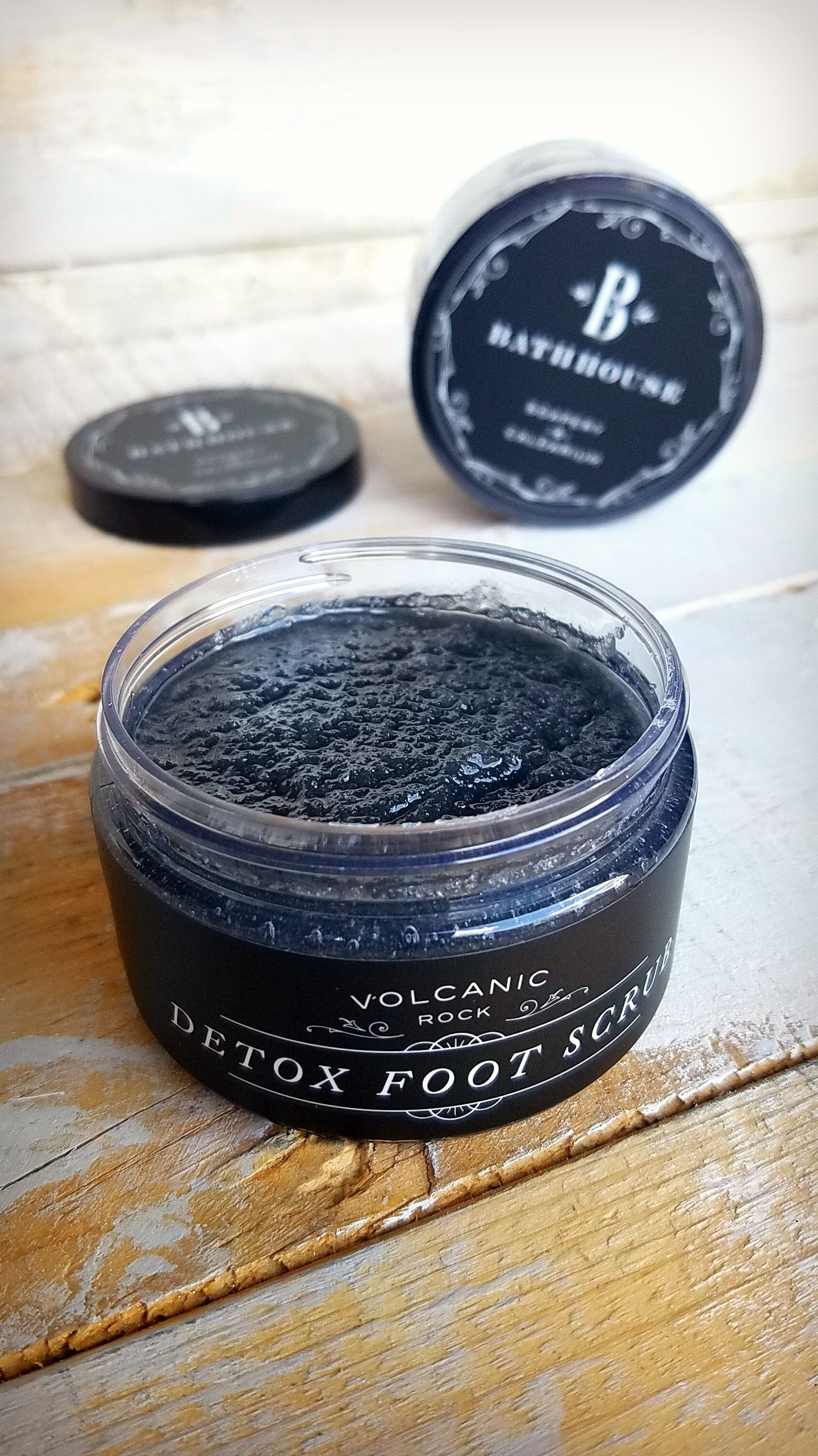 Volcanic Rock - Detoxing Foot Scrub