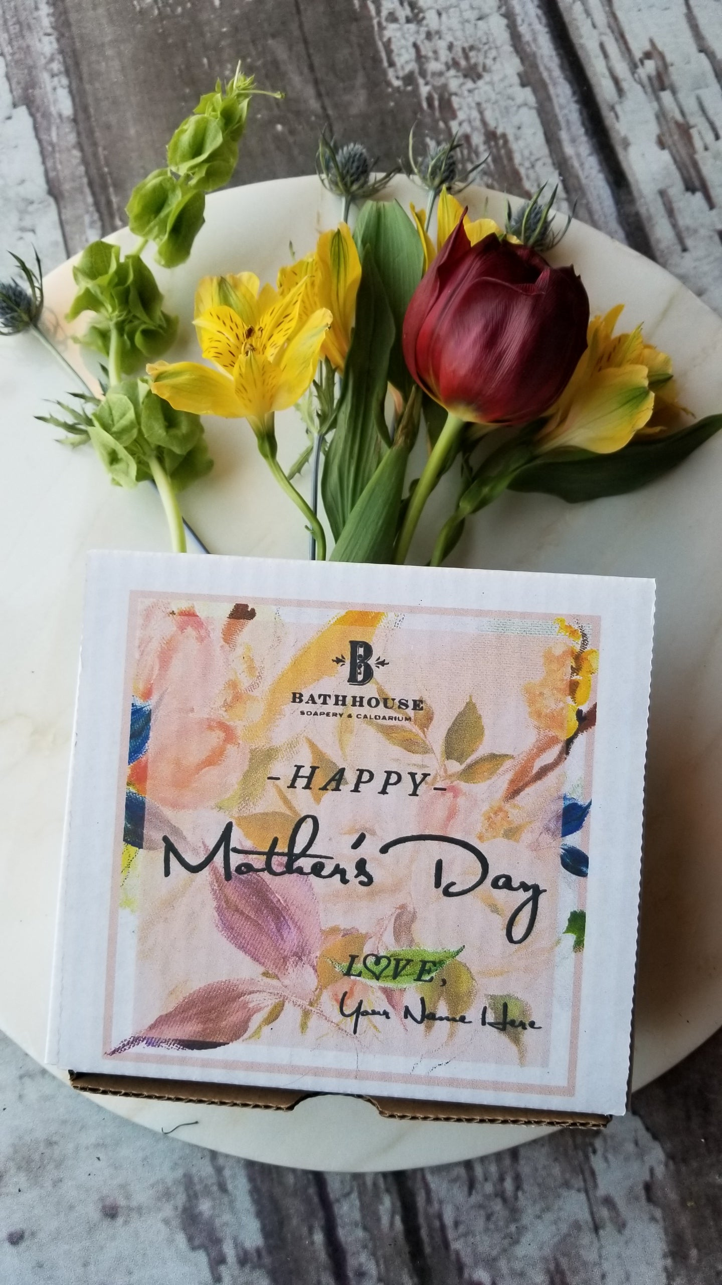 Bathing Bouquet Box - Mother's Day
