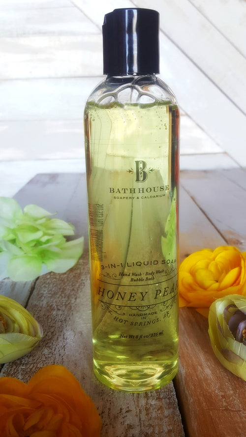 Honey Pear 3-in-1 Liquid Soap