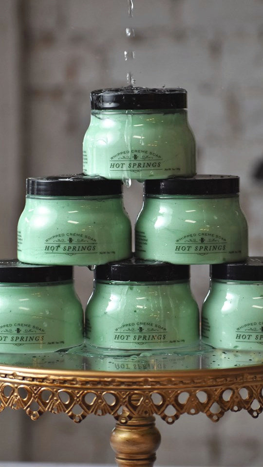 Hot Springs Whipped Soap