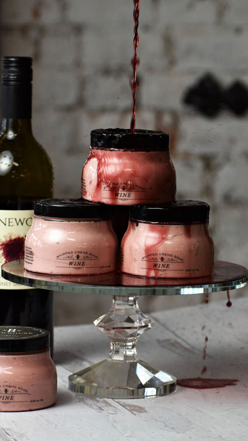 Wine Whipped Soap