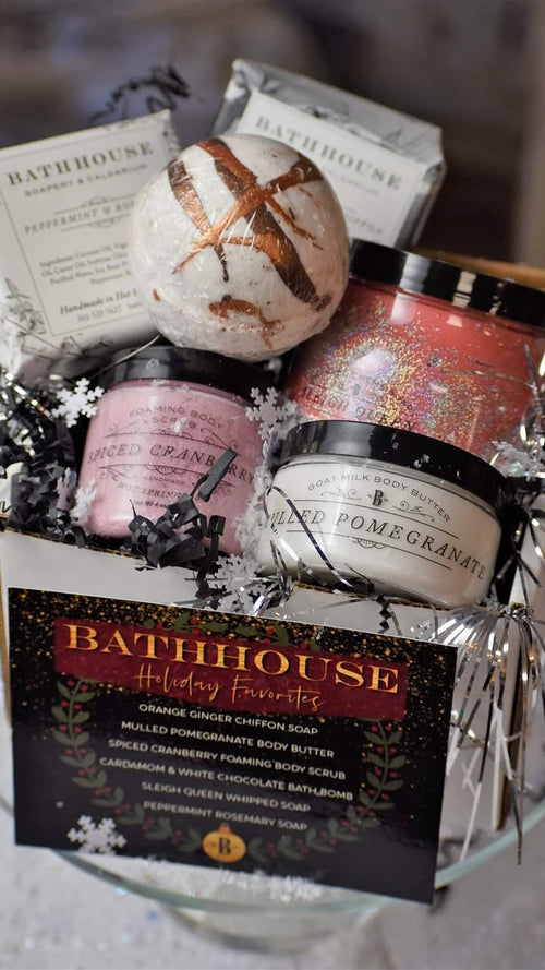 Bathhouse Holiday Favorites Box