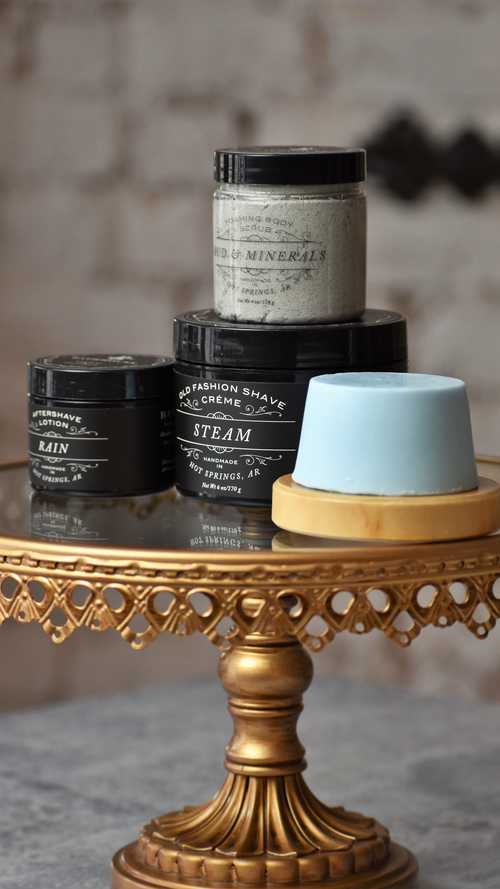 The Art of Bathhouse Shaving Box