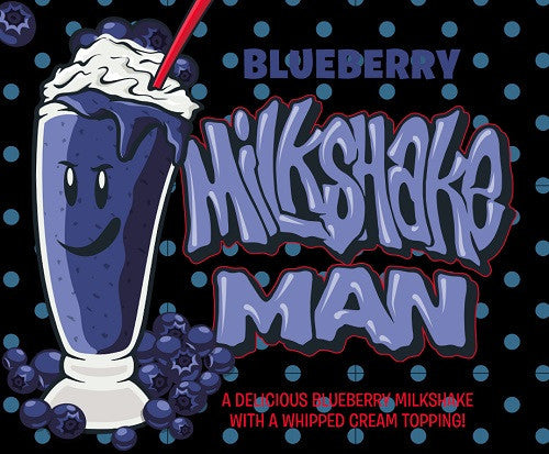 Milkshake Man Blueberry