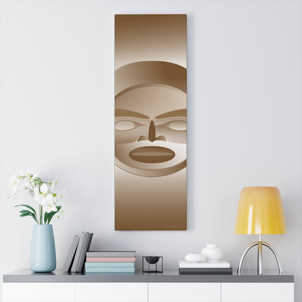 Copper Moon on Canvas