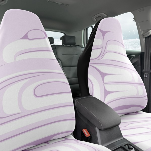 1 Mauve Car Seat Cover