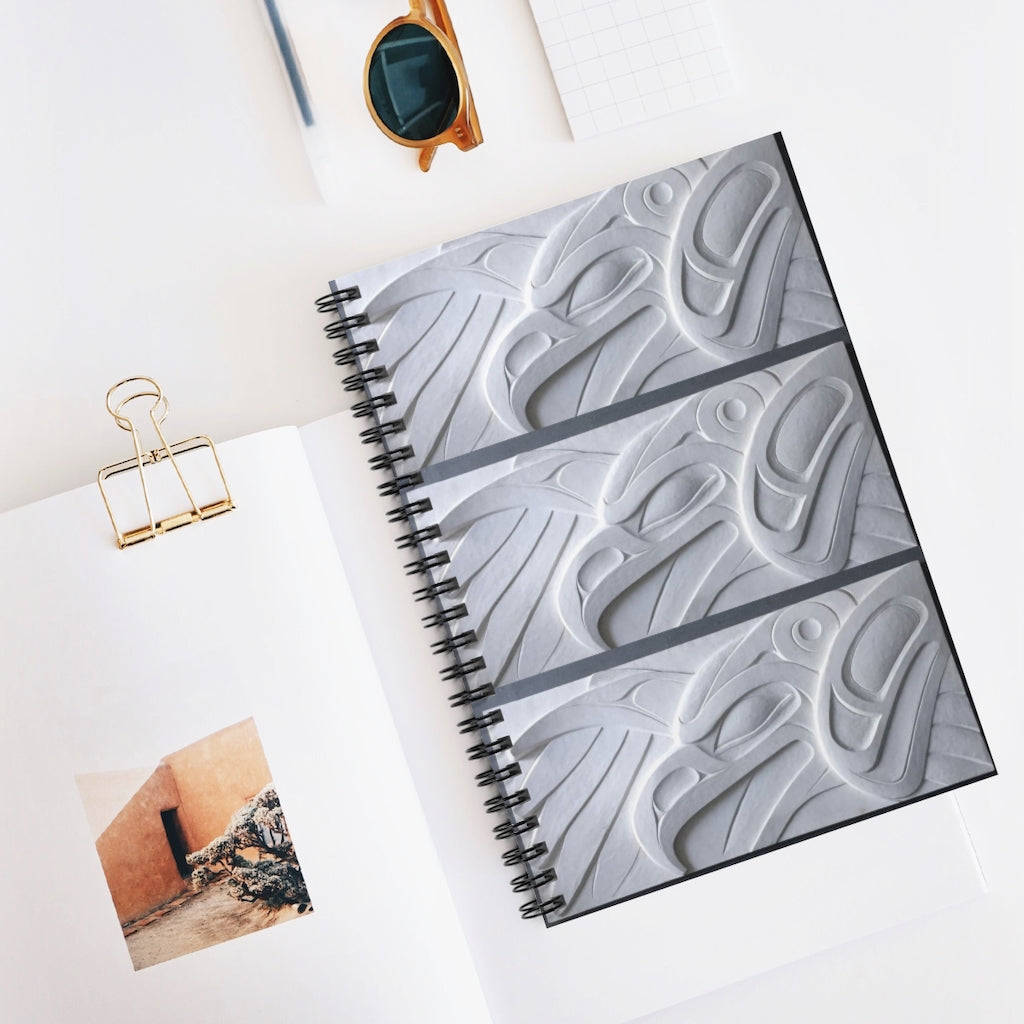 Thunder Bird Spiral Notebook - Ruled Line