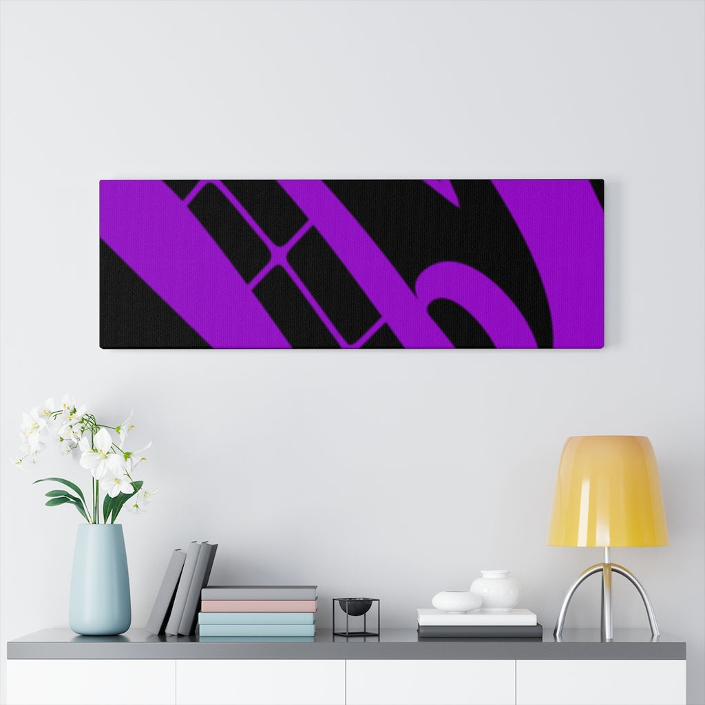 Purple fire dragon on Canvas Gallery Wraps