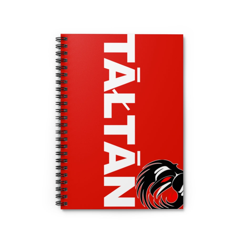 Tāłtān Spiral Notebook - Ruled Line