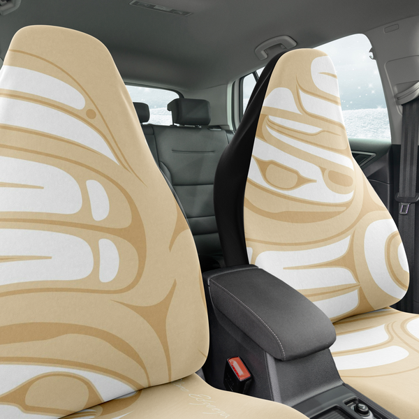 1 Tan Car Seat Cover