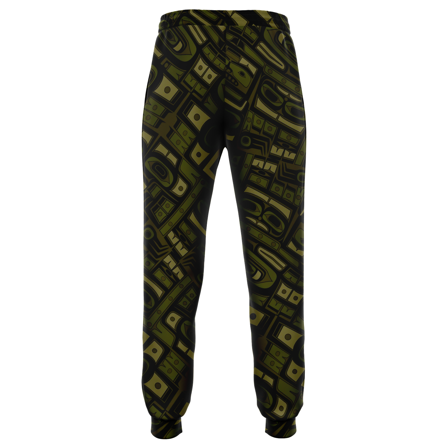 Camo Raven Cotton Poly Fashion Joggers