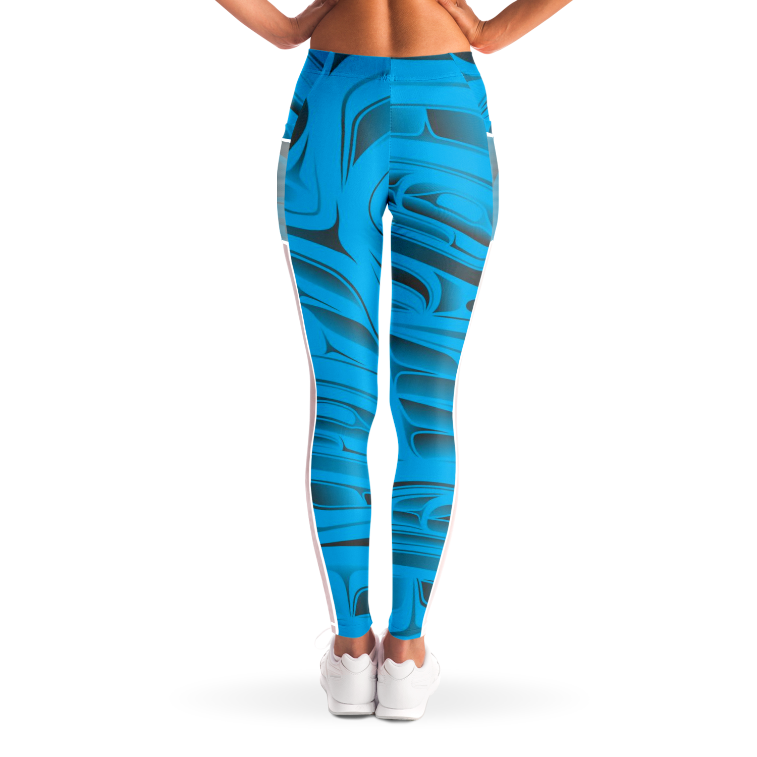 Blue Formline Pocket Legging