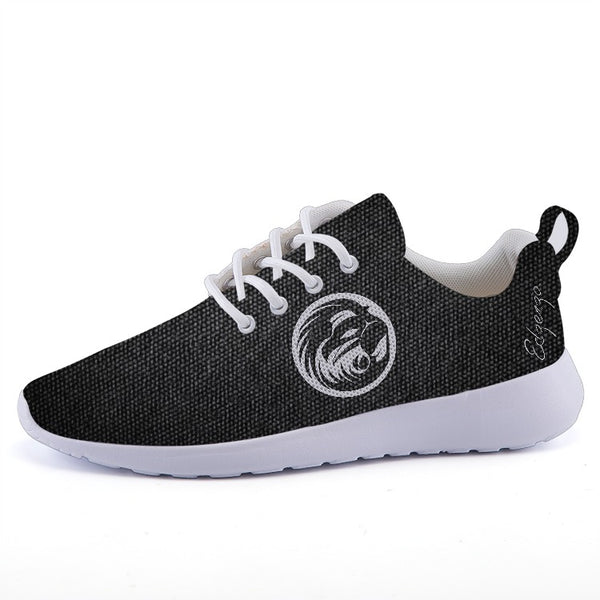 Lightweight Mesh Carbon Signature Sneakers