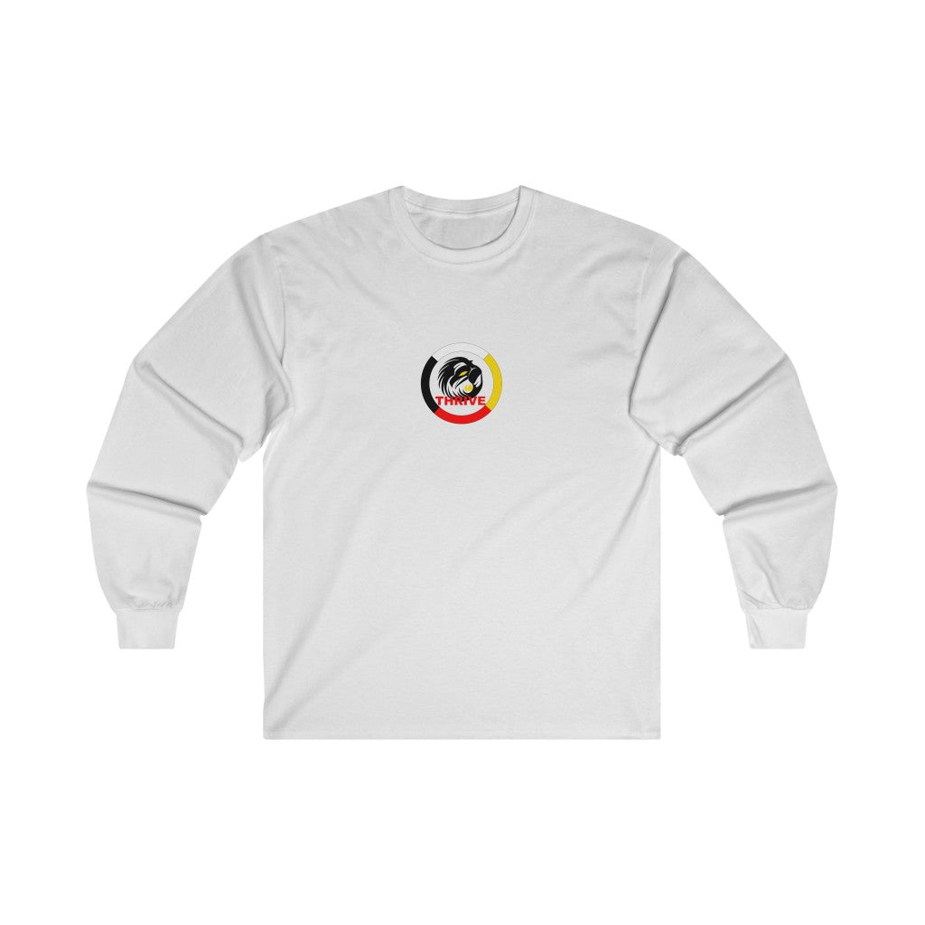 Men`s Raven Medicine Wheel Long Sleeve Tee
