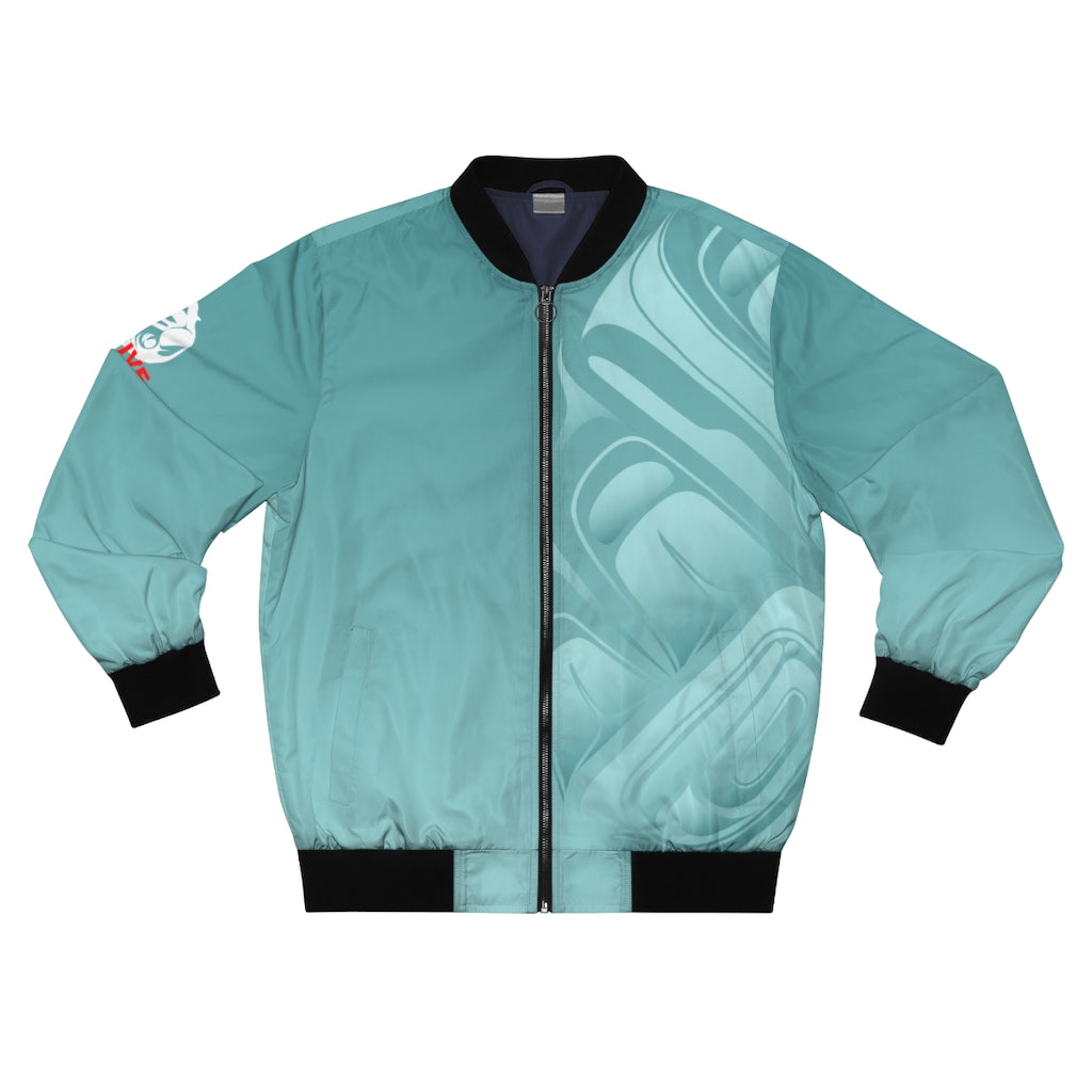 Men's Sea Foam Thrive Bomber Jacket