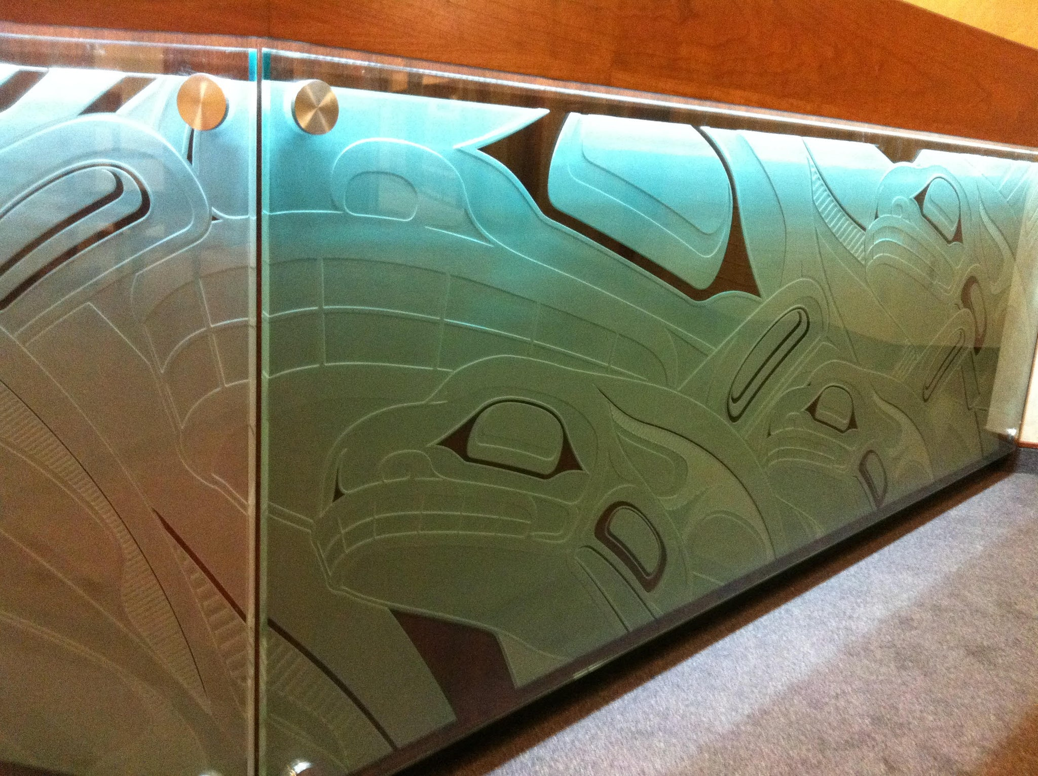 Making Waves Reception Desk