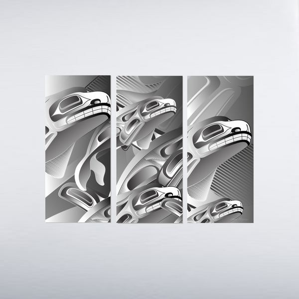 Still Making Waves Triptych Limited Edition Print