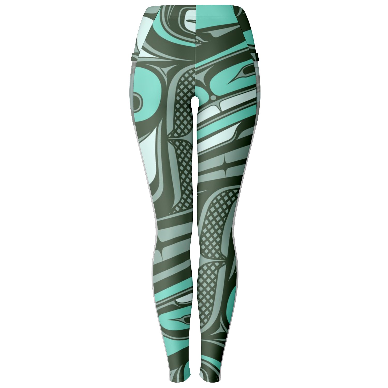 Blue Ocean Magic Pocket Legging