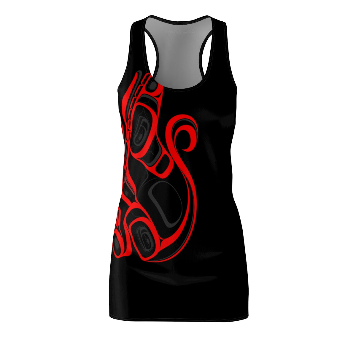 Wolf Women's Cut & Sew Racerback Dress