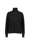 Muse Cashmere Lauren Sweater in Black