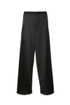 Christopher Esber Bias Satin Trouser in Black