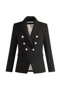 Veronica Beard Miller Dickey Blazer in Black