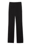 Theory Straight Pant in Black Crepe