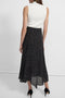 Theory Draped Maxi Skirt in Speckled Silk